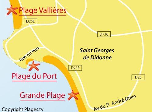 Plage du port saint georges de didonne 17 charente - Office du tourisme saint georges de didonne ...