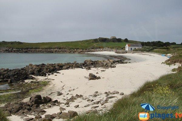 Photo de la plage de Porz Reter sur l'ile de Batz