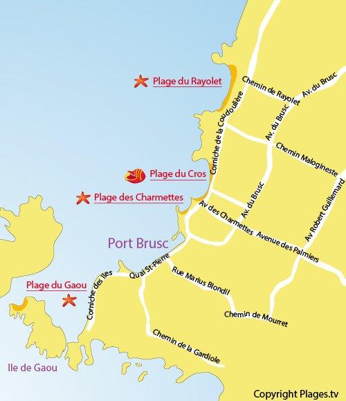 Plage du rayolet six fours les plages 83 var paca - Office du tourisme six fours les plages 83140 ...