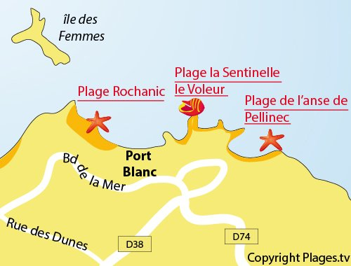 Plage rochanic penv nan 22 c tes d 39 armor bretagne - Meteo port blanc bretagne ...