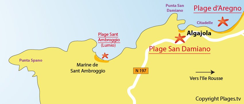 Plages Algajola  2b