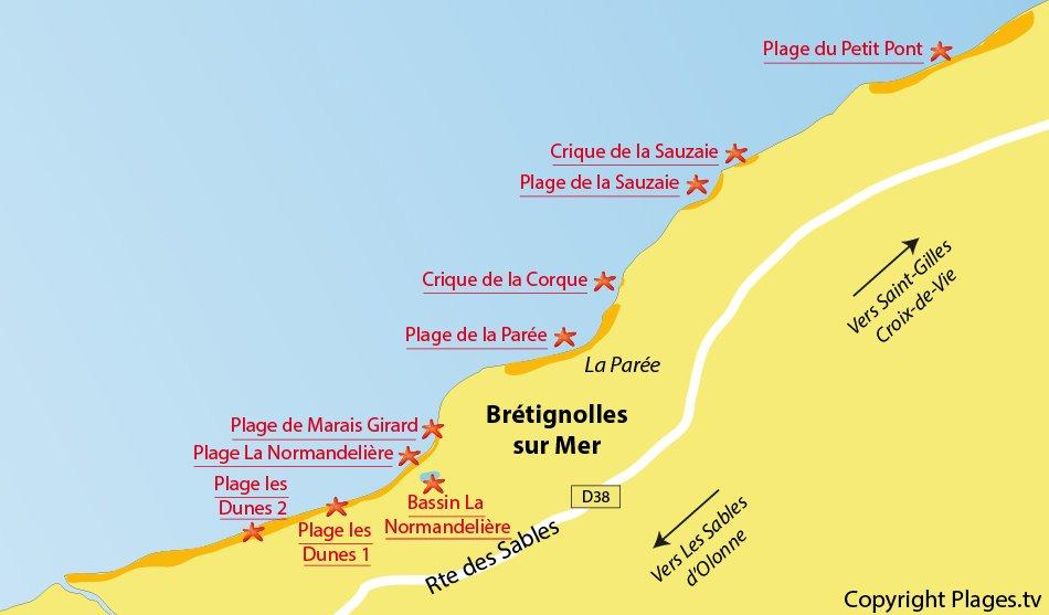 Plages bretignolles sur mer 85 station baln aire de - Office du tourisme bretignolles sur mer ...