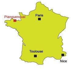 Localisation de Planguenoual en Bretagne