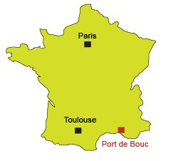 Location of Port le Bouc in France