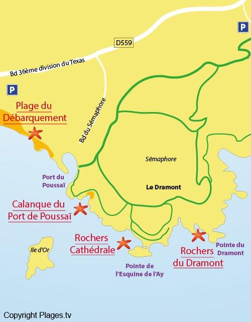 Rochers du dramont cath drale saint raphael 83 var - La plage parisienne port de javel haut ...