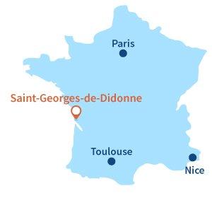 Où se trouve Saint Georges de Didonne en Charente Maritime