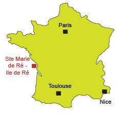 Location of Sainte Marie de Ré in France