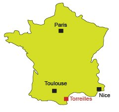 Location of Torreilles in France