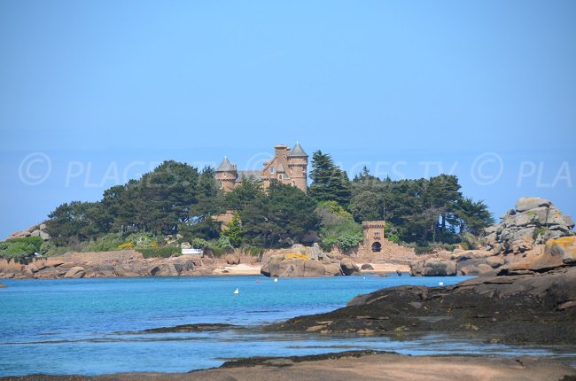 Castle of Costaérès - Brittany