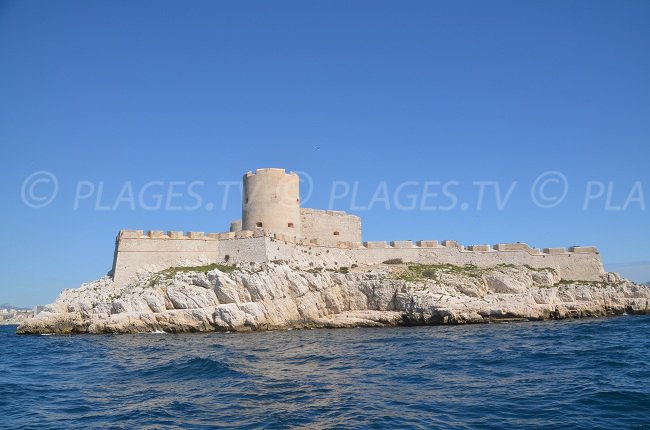 Château d'If in Marseille - France