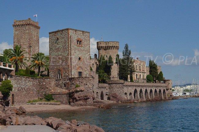 Le château de Mandelieu la Napoule