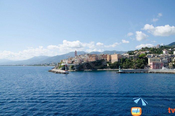 Vieille ville de Bastia - La citadelle