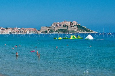 Beaches in Calvi France 2B Seaside resort of Calvi Reviews