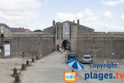 Citadel of Port-Louis in Brittany in France