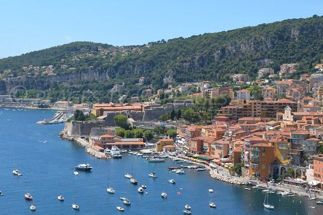 Citadel of Villefranche sur Mer and its old town
