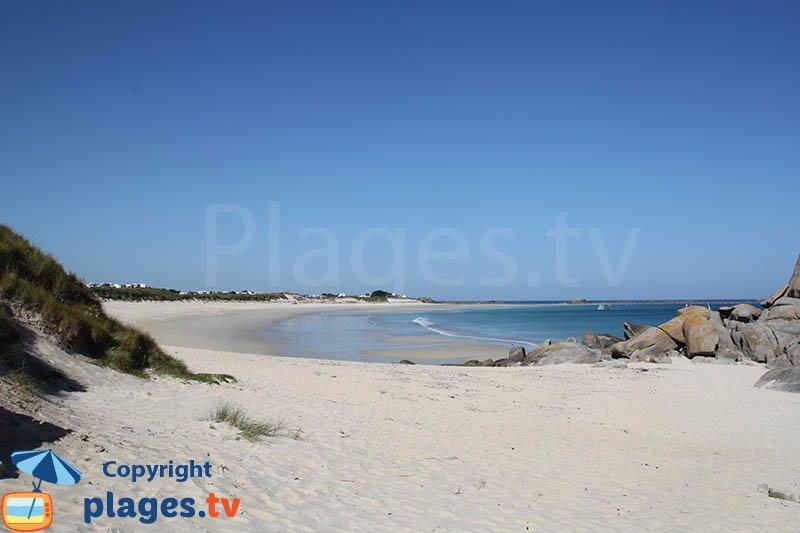 Cléder et sa plage des Amiets