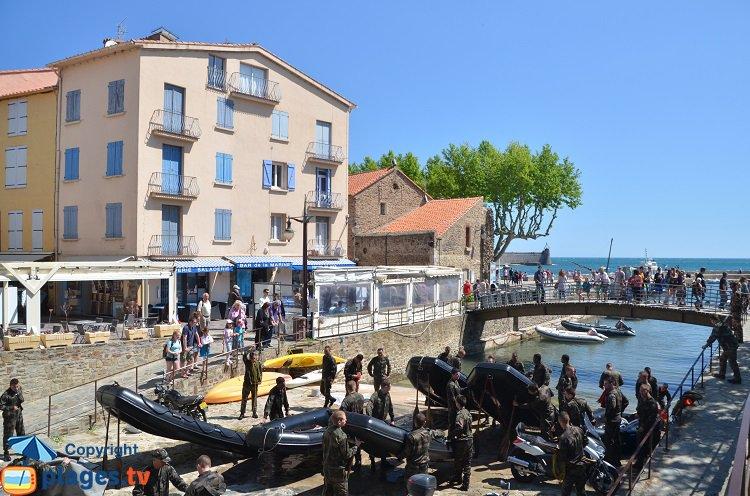 Entrainement du commando de Collioure