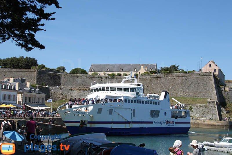 Bateau pour Belle Ile sur Mer