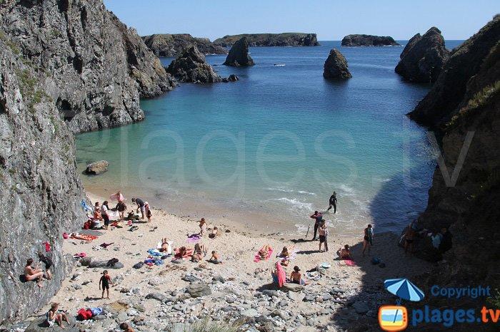 Wild coast in Belle Ile sur Mer - Piest's cove