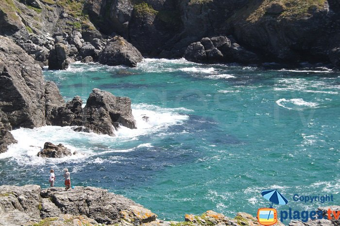 Wild coast in Belle Ile - Brittany