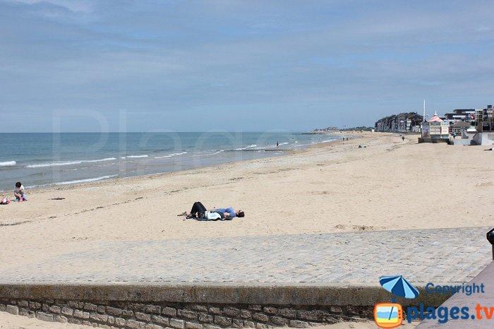 Plage de Juno Beach à Courseulles sur Mer