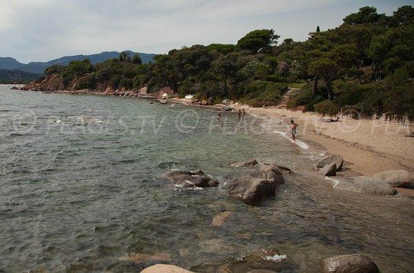 Photo of Cala Rossa creek - Corsica - Porto-Vecchio