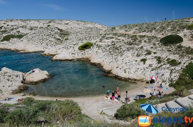 Creek in Frioul island - Marseille