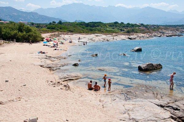 Wild beach of Arinella - Lumio