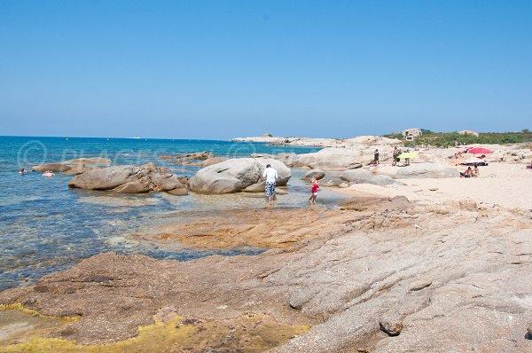 Creek of Arinella in Lumio (Corsica)