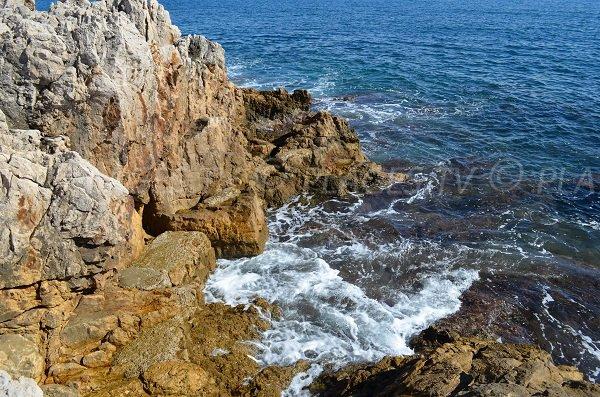 Rocks in Cap d'Antibes