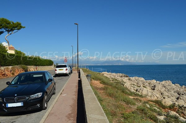 Parking of Bacon creeks - Cap d'Antibes