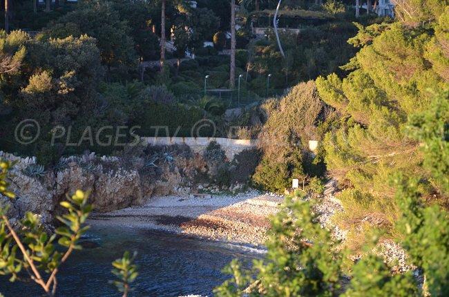 Creek in the Cap d'Antibes