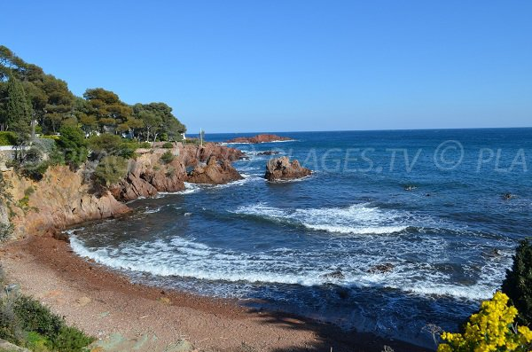 Photo of Baumette beach in Agay - France