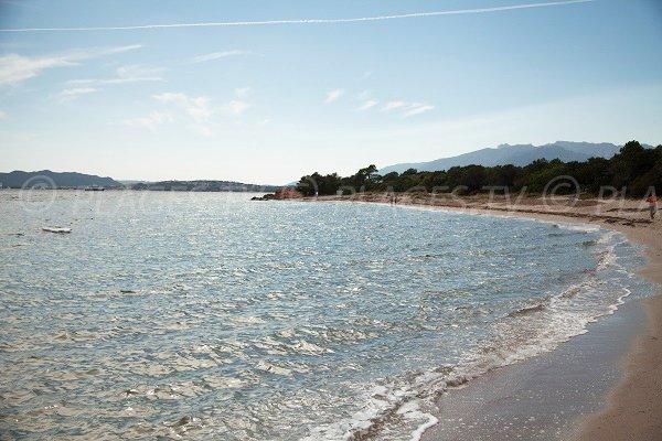Photo of Benedettu beach and view on Porto-Vecchio gulf
