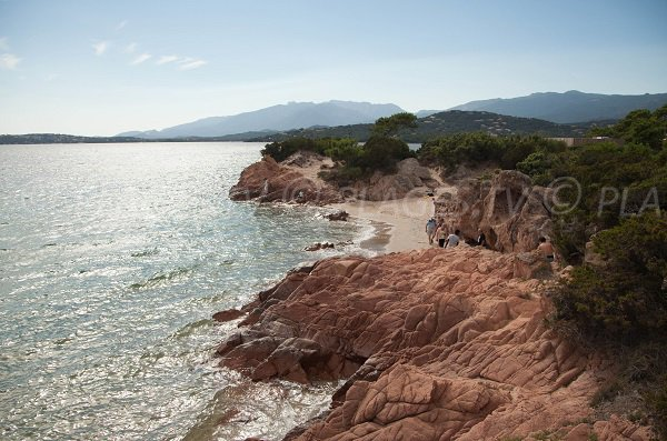 Photo of Benedettu cove in Lecci - Corsica