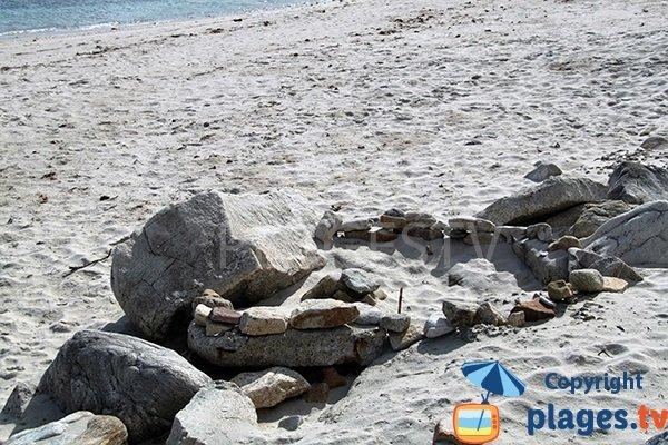 Crique secrète à Plouguerneau - Finistère