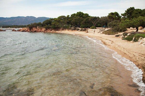 Cala Rosa cove in Lecci - Corsica