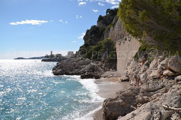St Jean Cap Ferrat view from Eze creeks