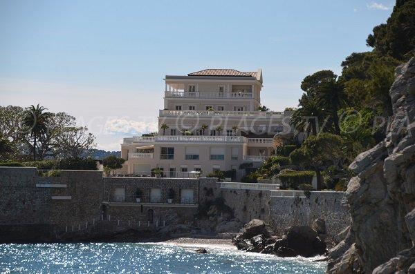 Plage de l'hôtel du Cap Estel  Eze