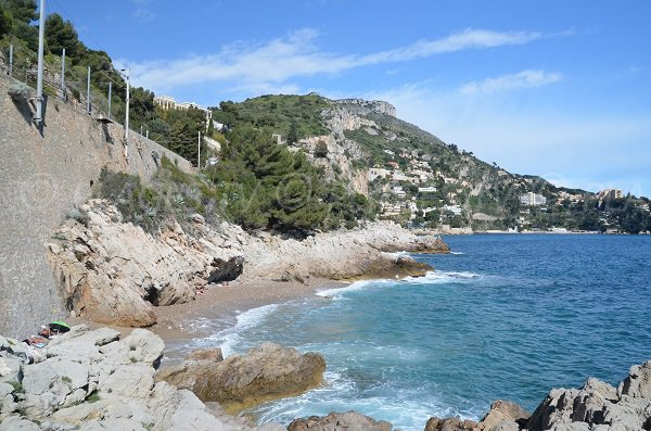 Photo of Cap Estel cove in Eze in France