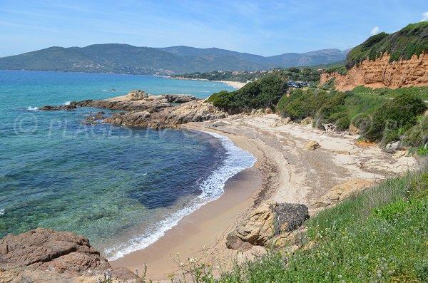 Castellu creek in Sagone - Corsica