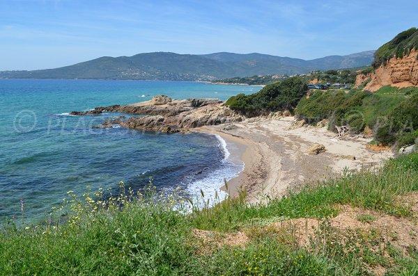Plage de Castellu à Sagone - Coggia