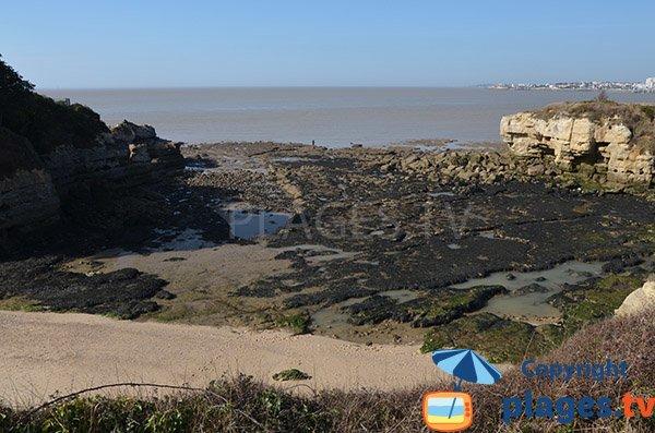 Cove for shore fishing - Saint Georges de Didonne