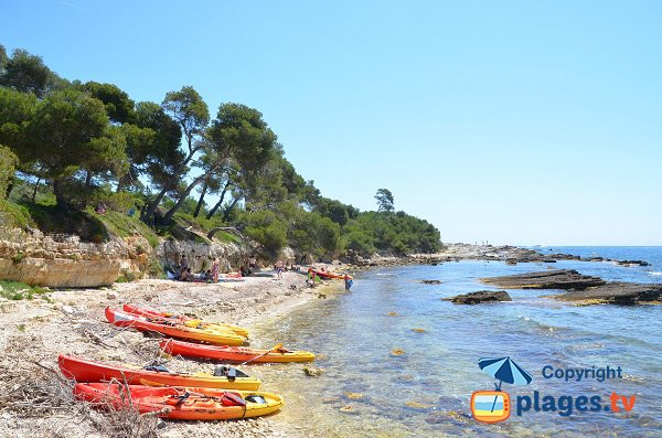 Photo of Four cove - island of Lerins - Ste Marguerite