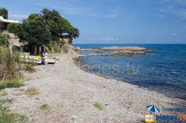 Photo de la crique de Funtanaccia à Solenzara