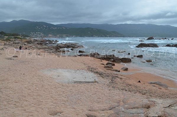 Cala Girelles in Corsica