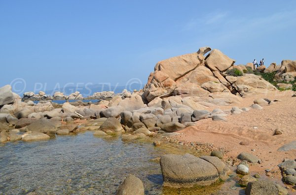 Island at the point of Isolella - Corsica