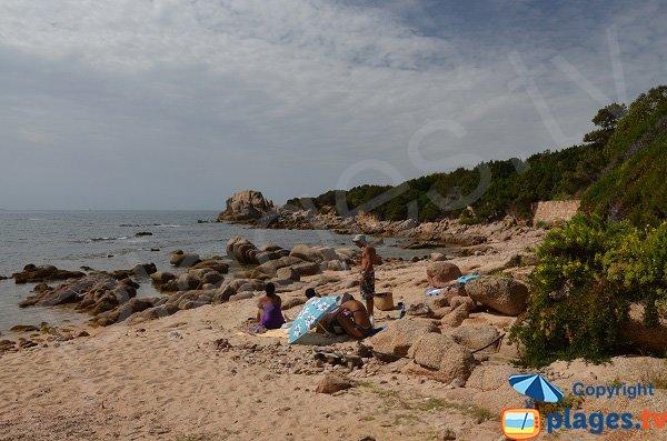 South cove of Isolella in Corsica