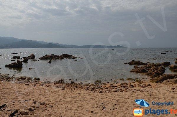Secret cove in Isolella - Corsica