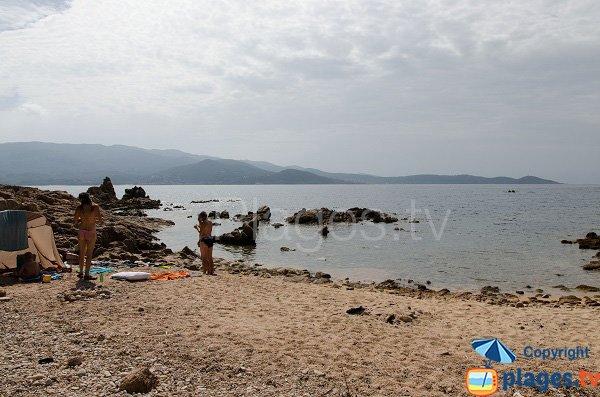 Photo of south cove in Isolella - Corsica
